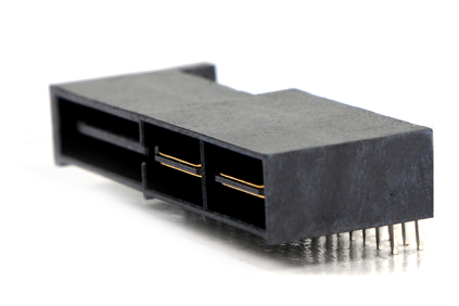 C21513 Extremely Low Profile Power Conn. (30A)