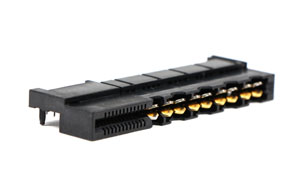 C20004 Power Edge Card Conn. (12A)